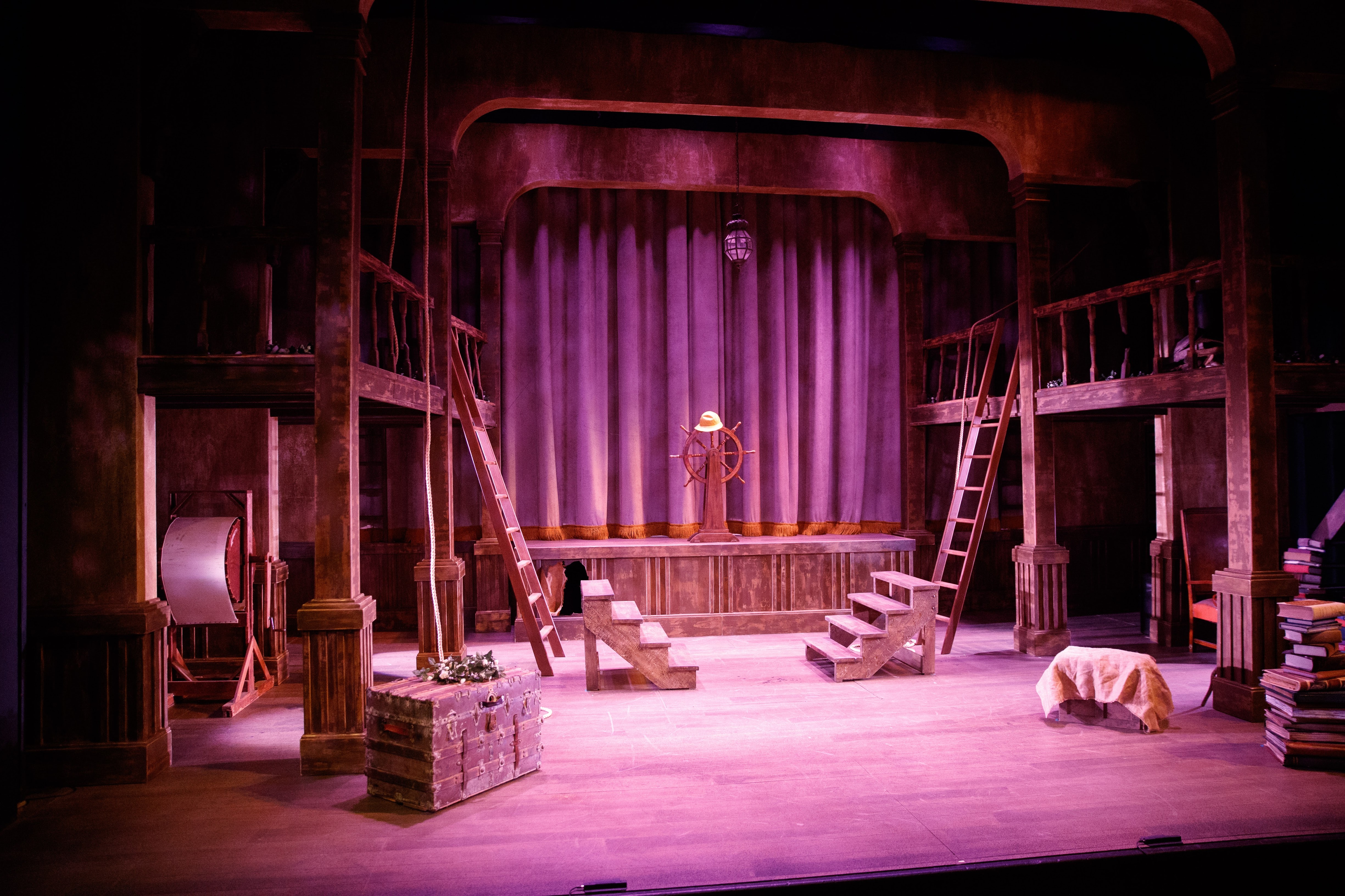 Pigott Theater Set for the The Tempest